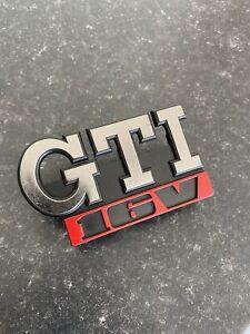 Vw Mk2 Golf Gti 16v Grill Badge Genuine Volksagen