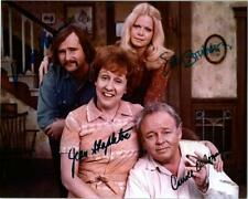 ALL IN THE FAMILY Cast Signed Autographed Photo w/COA
