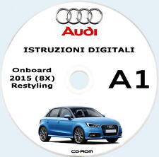 Audi A1,istruzioni uso e manutenzione + MMI.Audi 2015 Sportback