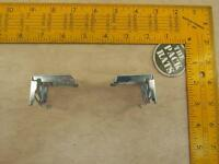 """4 NEW steel blinds Brackets Snap-in style brackets for 1"""" aluminum blinds drapes"""
