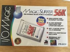 Magic Surfer 56K Internet Ready Pcmcia Fax/Modem - 2 in box