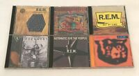 R.E.M. 6pc CD lot - Eponymous Reconstruction Out of Time Document Monster