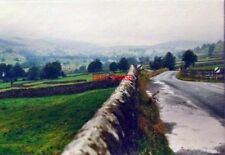 PHOTO  YORKSHIRE THE B6270 WEST OF REETH IN 1987 THE LANE TO THE RIGHT LEADS TO