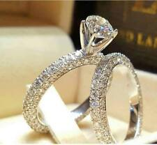 Certified 3.80Ct Round Diamond Solitaire Bridal Engagement Ring 14K White Gold