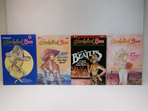 HONKYTONK SUE #1,2,3,4 1978-1980 Queen Of Country Swing Underground Comix