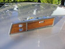 80 89 LINCOLN TOWN CAR REAR LEFT ASHTRAY DOOR SWITCH TRIM BEZEL WITH LIGHTER