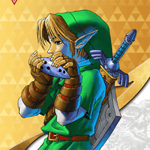 Link Ocarina Of Time Amiibo COIN | Legend Of Zelda Series & Breath of the Wild