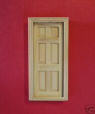 Dollhouse 6 Panel Interior Door #H6007 (1:24th scale) by:Houseworks