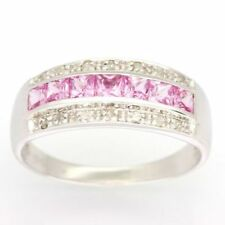 Pink Diamond Band Fine Rings