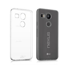 Custodia Cover Morbida Trasparente Anukku Air Gel Per LG Nexus 5X