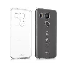Custodia Cover Morbida Trasparente Anukku Air Gel Per LG Nexus 5X + Pellicola