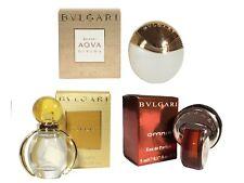 Mini Miniature Bulgari BVLGARI Omnia Aqua Divina Goldea Woman Perfume Set of 3