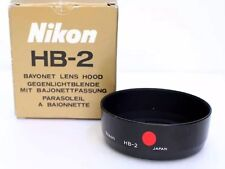 NIKON HB2 LENS HOOD - New Old Stock - HB2 AF 35-135mm f/3.5-4.5 - Japan