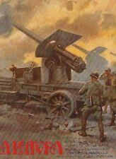 STAMPA 1918 ACHILLE BELTRAME WW1 ARTIGLIERIA MILITARE OBICE CAMION SPA