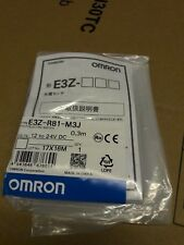 OMRON E3Z-R81-M3J RETROREFLECTIVE SENSOR BNIP FREE UK POST