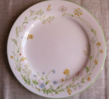 """NORITAKE IVORY CHINA REVERIE 7191 Wildflowers & Butterfly Salad Plate 8 1/2 """""""