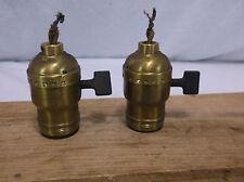 vintage antique ARROW HART fat boy  sockets light lamp part bakelite paddle H&H
