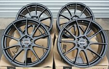 "18"" NOVUS 02 GB ALLOY WHEELS FIT FOR ALFA ROMEO 159 BRERA GIULIETTA GIULIA 8C"