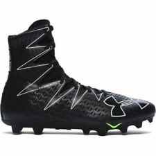 UA Under Armour Highlight MC Lacrosse/Football Cleats 1269693-001 Black Size 11
