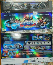SKYLANDERS SUPERCHARGERS: STARTER PACK DARK EDITION  per  PS3  - NUOVO !!!