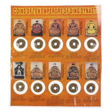 10 Stücke Kaisermünze,chinesische Kupfermünze, antike Währung der alten Dyna  MD