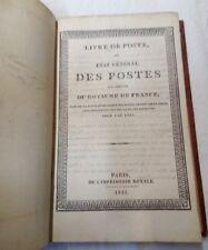 Livre de Poste - Poste aux chevaux - 1831 - Avec sa carte
