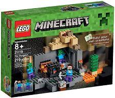 LEGO Minecraft - 21119 Das Verlies / The Dungeon mit Steve und Zombie - Neu OVP