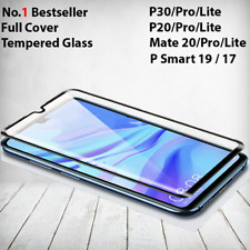 For Huawei P20 P30 Pro Lite Mate 20 Tempered Glass Full Screen Protector Cover