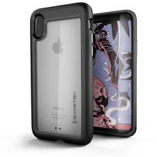 Iphone XS X funda Ghostek marco de aluminio Protección LCD Atomic
