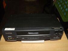 SYLVANIA MODEL SSV 6001 VCR W/ AV CORD BLACK