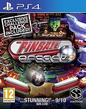 PS4 Pinball Arcade 1 Flipper Spiel Playstation 4 NEU