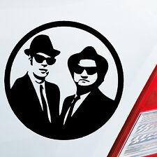 Autoaufkleber BLUES BROTHERS Musik Music Stars Aufkleber Sticker DUB OEM JDM 028