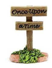 Once Upon a Time� Sign Mi 55609 Miniature Fairy Garden