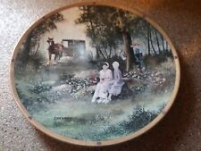 Al Koenig Hide and Seek Plate The Plain Folk Collection Lenox Amish