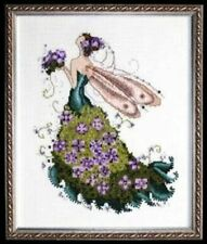 Pixie Couture Collection Lilac Counted Cross Stitch Chart Pattern