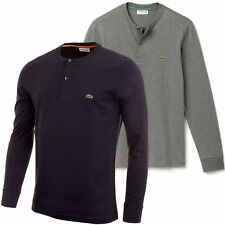 Lacoste Cotton Long Sleeve T-Shirts for Men
