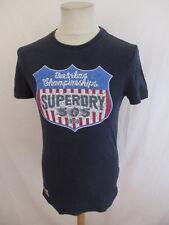 T-shirt Superdry Bleu Taille S à - 50%