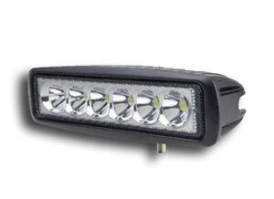 1x 12V/24V Scheinwerfer LED-Lampe für Auto LKW Road Hilfe Fahrzeug 18W