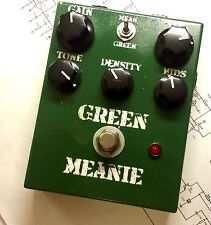 "JDM Pedals ""Green Meanie"" Germanium Hybrid Big Muff / Pi Bubble Font Triangle +"