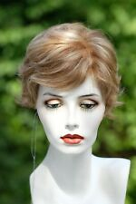 """JACQUELYN """"COCO"""" wig- HUMAN HAIR Blend -Color: Red/ Blonde mix #700- LIQUIDATION"""