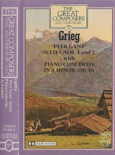 COLIN DAVIS GRIEG GYNT GREAT COMPOSERS CASSETTE 37 STEPHEN BISHOP- KOVACEVICH