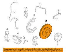 BMW OEM 09-15 Z4 Front Brake-Disc Rotor 34116794427