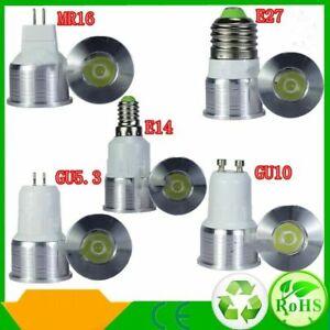 3W E27/GU10/MR16/E14 UV Spotlight Purple LED Spot Light Bulb Lamp 85-265V/12V
