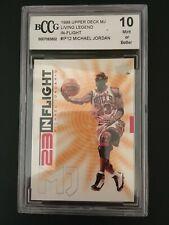 1998-99 Upper Deck Living Legend 23 in flight 12 Michael Jordan Graded bCCg 10