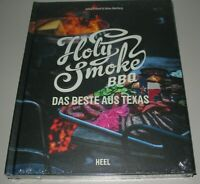 Fritzell / Akerberg Holy Smoke BBQ Das Beste aus Texas Grill Kochbuch kochen NEU