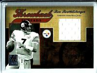 2005 Playoff Donruss Elite Throwback Threads Jersey Ben Roethlisberger # 039/150