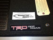 2005-2011 TACOMA DOUBLE CAB TRD CARPET FLOOR MATS-DARK GRAY-GENUINE TOYOTA