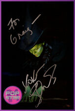 Shoshana Bean Elphaba SIGNED Wicked 8x12 Photo COA