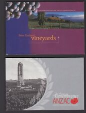 SPECIAL OFFER. NEW ZEALAND PREMIUM BOOKLETS 8 DIFFERENT FV $125.00.