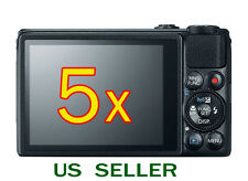 5x Clear LCD Screen Protector Guard Cover Film For Canon PowerShot S120 Cam